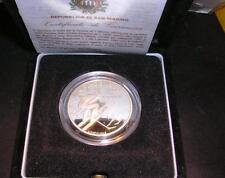 SAN MARINO 1994 1000 Lire Olimpiadi di Lillehammer  AG Proof