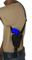 "Barsony Gun Concealment Vertical Shoulder Holster for Ruger 2"" Revolvers 38 357"