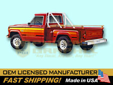 1979 1980 Jeep Honcho J10 Sportside Stepside Truck Decals & Stripes Kit