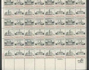 US Sheet MNH #1779-1782 15c American Architecture  ,  1779