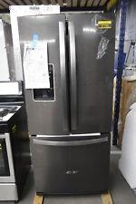 "Whirlpool Wrf560Sehv 30"" Black Stainless French Door Refrigerator Nob #37735 Hrt"