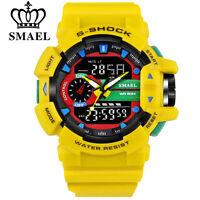 SMAEL Sport Watch Men Brand Digital Wristwatch LED Electronic Male Watches