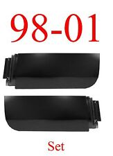 98 01 Dodge Rear Quad Cab Lower Door Skin SET, Truck Club Cab 4 Door Ram