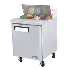 Turbo Air MST-28, 27-inch Single Door Refrigerated Salad / Sandwich Prep. Table