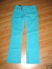 Hi Jeans-Turquoise Cord Wide Belt Pants-sz 5-with tags