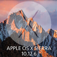 Mac OSX Sierra 10.12.6 Installer Bootable USB Drive for macbook Pro Air iMac os