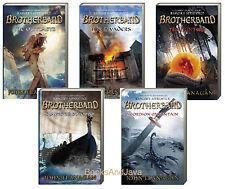 Brotherband Chronicles 1-5 (pb)  Outcasts,Invaders,Hunters +by John Flanagan NEW