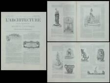 L'ARCHITECTURE n°21 1902 SALON, ART NOUVEAU, VITAL CORNU, TARRIT, MADRESSI,