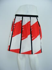 """VINCE CAMUTO Skirt Abstract Cotton STRETCH Knee-Length LINED NWOT Sz 8 - W32"""""""