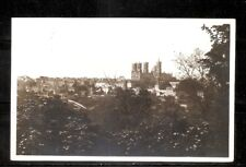 France- Laon Pittoresque- Panorama. Vintage Photo Post Card