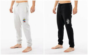 Rip Curl Mens Search Logo Trackpant Jogging Bottoms Cuffed Sweatpants RRP$59.99