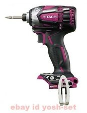 Hitachi Koki 18V cordless impact driver WH18DDL2 Red body only From Japan