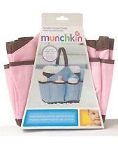 New Munchkin Portable Diaper Caddy Changing Kit, Organizer Pink