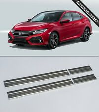 Honda Civic (FK - Released 2017/18) Stainless Sill Protectors / Kick Plates