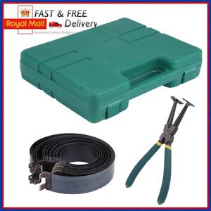 Motorcycle Motobrike Piston Ring Clamp Compressor Tool Repair Kit 62-145mm