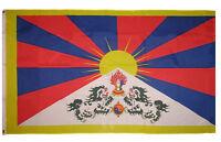 3x5 Tibet Chine Dalai Lama Tibetan flag 3'x5' House Banner Grommets