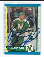 Frantisek Frank Musil Signed 1989/90 O-Pee-Cee Card #217