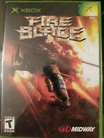 Fire Blade (Microsoft Xbox, 2003) Disc Only - Tested - Fast Free Shipping!