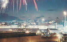 The Stampede Grounds at Night CALGARY Alberta Canada Postcard