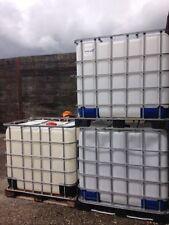 1000 Litre IBC Bulk Liquid Storage Containers Tank, Good Condition