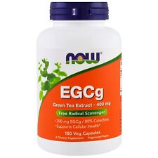 Now Foods EGCg Green Tea Extract - 180 - 400mg Vcaps - Antioxidant Support
