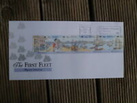 FIRST FLEET DEPARTURE  1987 FIRST DAY COVER MACHINE SPECIAL POSTMARK PORTSMOUTH