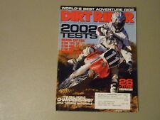 SEPTEMBER 2001 DIRT RIDER MAGAZINE,HONDA CR125R,KTM 125SX,400SX,520SX,YAMAHA 125