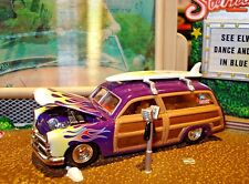 1949 49 FORD WOODY WAGON LIMITED EDITION 1/64 CALIFORNIA BEACH CRUISER HW