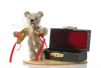 "World of Miniature Bears 3"" Mohair Cymbal Bear #1203 Collectible Miniature Bear"