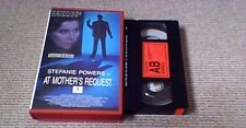AT MOTHER'S REQUEST ICELAND JB VHS PAL VIDEO 1986 Icelandic Subs Stefanie Powers