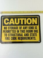 EMED CAUTION SIGN 10 X 7 METAL XS39135