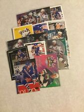 Mark Messier New York Rangers 14 card lot upper deck pinnacle parkhurst ultra