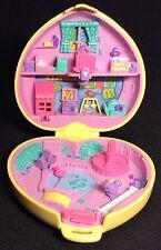 Polly Pocket Mini 💚 1994 - Strollin' Baby Babysitting Dose Herz
