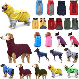 Puppy Pet Dog Cat Clothes Winter Jumper Sweater Padded Coat Vest Jacket Apparel