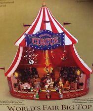 Mr. Christmas -Big Top World's Fair 30 Tune Multi-Action/Lites Music Box BOXED