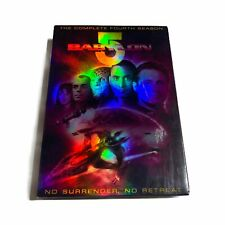 Babylon 5 - The Complete FOURTH Season (DVD, 2009, 6-Disc Set)
