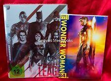 Justice League Limited Edition Steelbook Mondo - Region Free + Art Cards