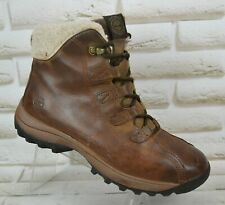 TIMBERLAND Waterproof Womens Brown Leather Outdoor Ankle Boots Size 7 UK 40 EU