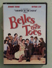 jeanne crain   BELLES ON THEIR TOES myrna loy     DVD  includes chapter insert
