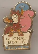 Pin's pin BISCUIT BISCUITERIE LE CHAT BOTTE (ref H39)