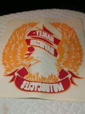Vintage 1987 Harley Davidson Motorcycle Holoubek Eagle Iron on t-shirt transfer2