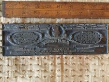 Ajax Paint Letterhead Printing Plate Philadelphia