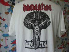 Shadow Of Doubt Damnation heavy metal concert tour T shirt Sz XL
