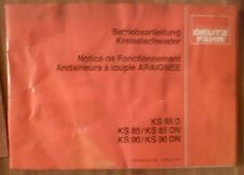 Guida kreiselschwader ks85 + ks85d + ks85dn + ks90 + ks90dn manuale di istruzioni