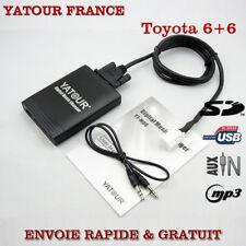 INTERFACE USB MP3 AUDIO AUTORADIO TOYOTA AURIS