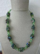 VINTAGE millefiori murano MORETTI necklace Unique beads