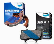 Bendix HD Brake Pad and Shoe Set fits MAZDA BT-50 DB1681HD-BS1769