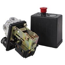 Air Compressor Pressure Switch Control Valve 240V 175PSI Heavy Duty - BLACK