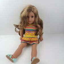 "American Girl 18"" Doll Lea Clark 2016 Girl of The Year GOTY RETIRED BEAUTIFUL"