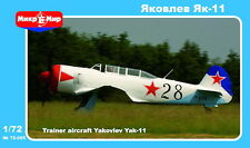 Micro MIR 1/72 kit modello 72-005 Yakovlev yak-11